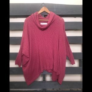 Free People Beach cowl neck sweater large